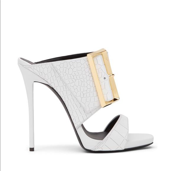 ae2812f4d81b Giuseppe Zanotti Croc Heels - Beverly